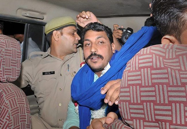 Chandrashekhar released from jail