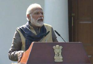 कर्तव्य को प्राथमिकता दें, अधिकार को नहीं : PM मोदी