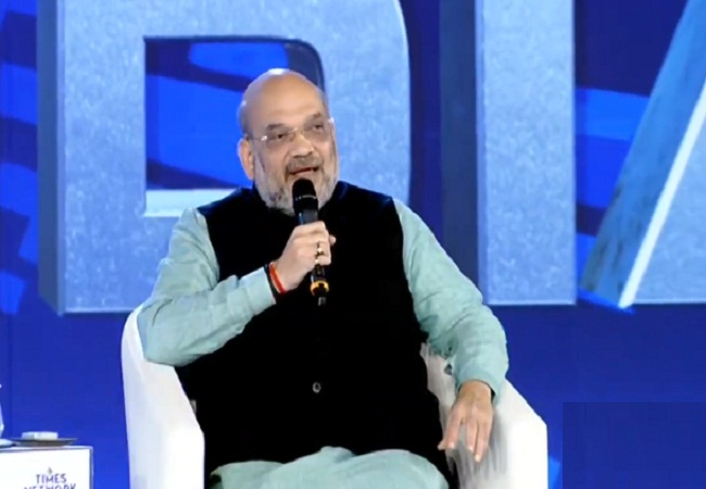 Amit Shah Times Now Summit