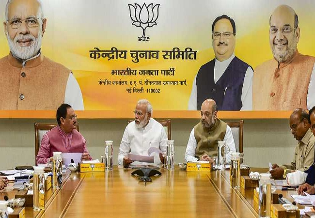 BJP election committee