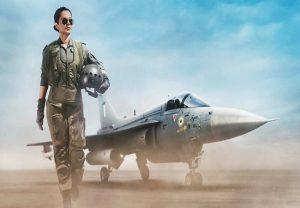 'तेजस' में कंगना का वायुसेना पायलट का पहला लुक वायरल
