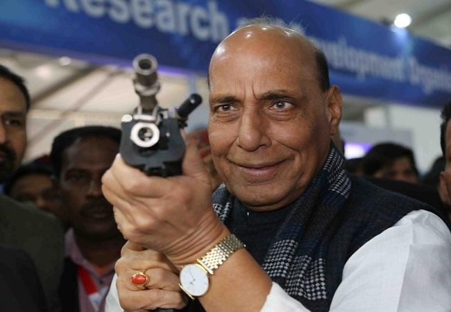 Rajnath Singh Defeance EXPO