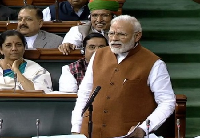 PM Modi loksabha thursday