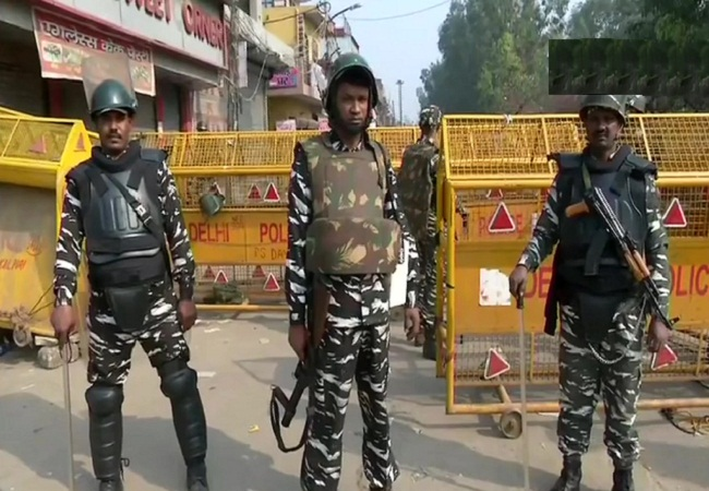 Security Forces in Delhi