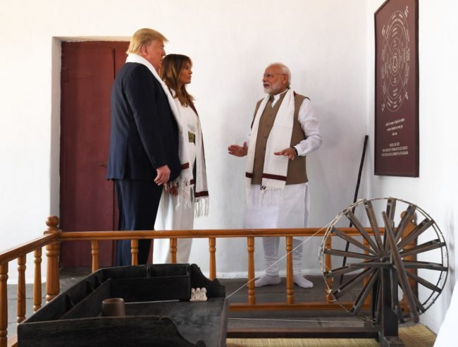 US President Donald Trump and Narendra Modi