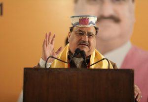 महाराष्ट्र में अब होगा ऑल वर्सेज वन, बीजेपी के राष्ट्रीय अध्यक्ष जेपी नड्डा का बड़ा ऐलान