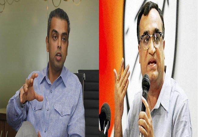 milind deora and Ajay maken