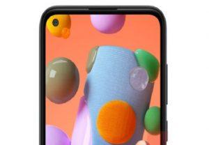 पंच-होल डिस्प्ले के साथ लॉन्च हुआ Samsung Galaxy A11