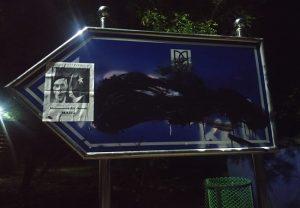 जेएनयू में लगा 'जिन्ना मार्ग' नाम से पोस्टर, एबीवीपी ने जेएनयूएसयू पर लगाया आरोप