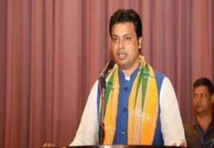 त्रिपुरा के मुख्यमंत्री बिप्लव देव ने बताई 'जल गमछा' के जरिये रेडीमेड मास्क बनाने की अनोखी तरकीब, हारेगा कोरोना