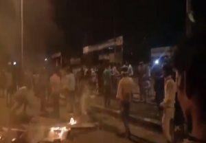 लॉकडाउन के बीच सूरत में प्रवासी मजदूरों का हंगामा, आगजनी और तोड़फोड़ की