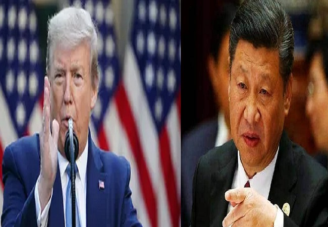 Trump and china jinping