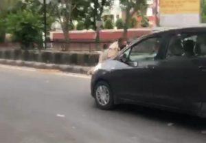 जालंधर में 20 वर्षीय रईसजादे की करतूत, ड्यूटी पर तैनात पुलिसकर्मी पर चढ़ाई कार, मामला दर्ज