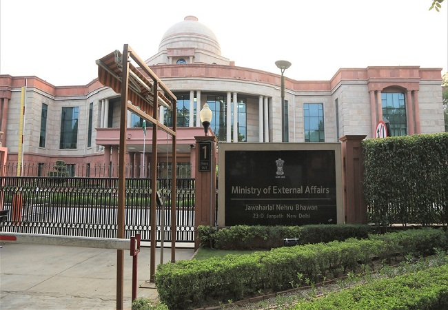 External Affairs Ministry india
