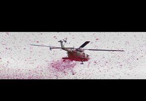 वायुसेना ने भोपाल के कोरोना योद्धाओं पर बरसाएं फूल
