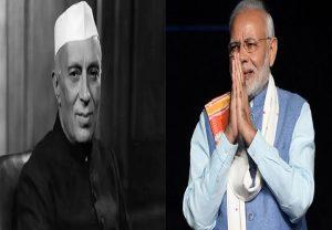 भारत के पहले प्रधानमंत्री नेहरू को पीएम मोदी ने दी श्रद्धांजलि, ट्वीट में लिखी ये बात