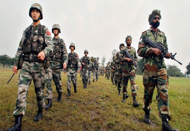 Indian -China Army