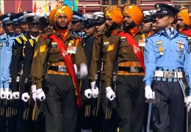 victory day parade india
