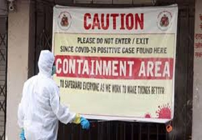 Containment Zone UP