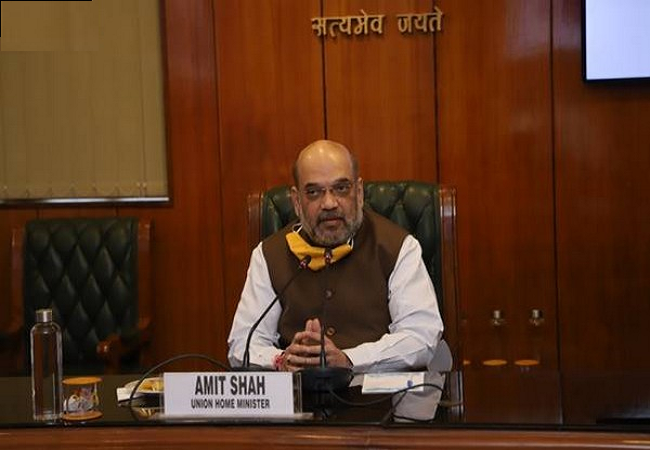 Covid Review meet Amit Shah