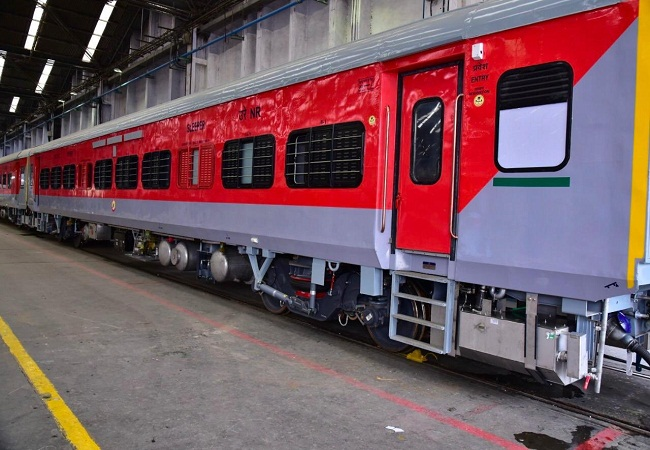 Indian Railway New Coach
