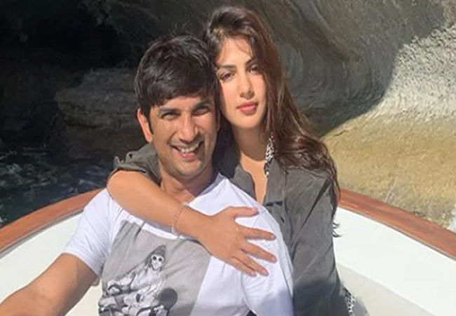 Rhea Chakraborty and Sushant Singh