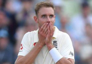 विंडीज के खिलाफ पहले टेस्ट मैच से बाहर हो सकते हैं ब्रॉड