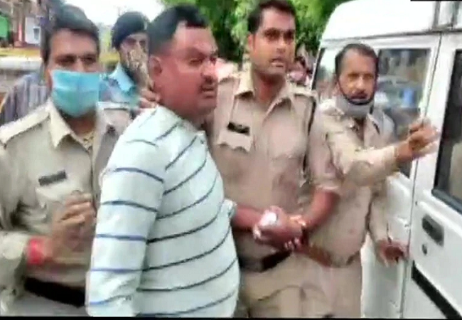 vikas dubey arrested