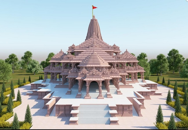 ram mandir New model picture