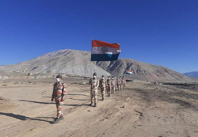 ITBP jawan independence day