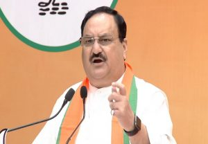 तमिलनाडु : भाजपा अध्यक्ष जेपी नड्डा ने गिनाई मोदी सरकार की उपलब्धियां