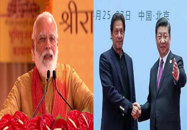 PM Narendra Modi , Imran and Jinping