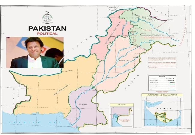 Pakistan New Political Map