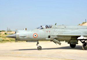 वायुसेना प्रमुख ने सीमा के नजदीक मिग-21 बाइसन से भरी उड़ान, चीन और पाकिस्तान को दिखाई ताकत