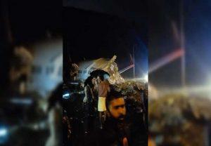 एयर इंडिया का विमान हादसे का शिकार, 191 लोग विमान में थे सवार, हुए प्लेन के कई टुकड़े