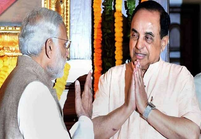subramanian swamy and narendra modi
