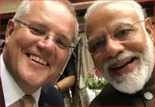 Australia defense minister and modi