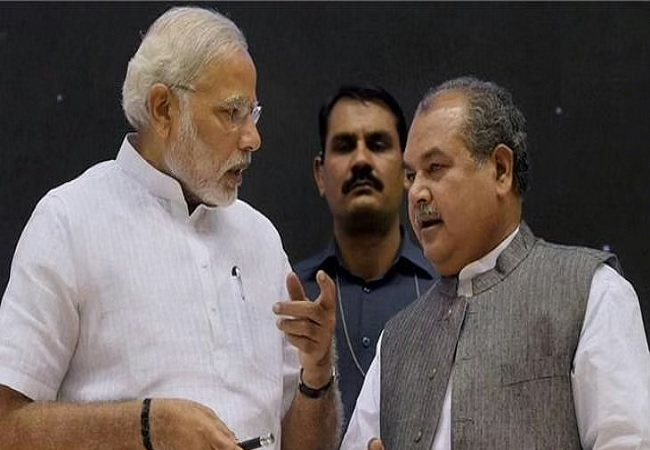 PM Narendra Modi and Narendra Singh