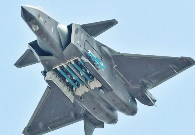 China Chengdu J-20