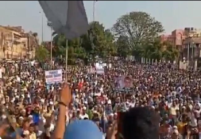 Bhopal protest France