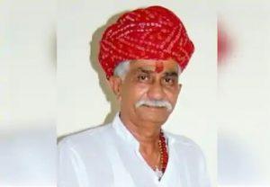 Rajasthan: कांग्रेस विधायक कैलाश त्रिवेदी की कोरोना से हुई मौत, गुरुग्राम के मेदांता अस्पताल में चल रहा था इलाज