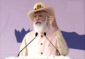 राष्ट्रीय एकता दिवस परेड में बोले PM मोदी- 'पड़ोसी देश के बयान से भारत में कई लोग बेनकाब'