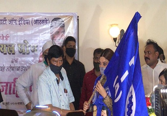 Payal Ghosh Join RPI