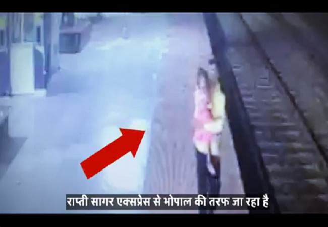 indian railway saves girl