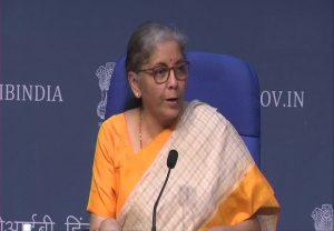 वित्तमंत्री सीतारमण ने किया आत्मनिर्भर भारत 3.0 का ऐलान