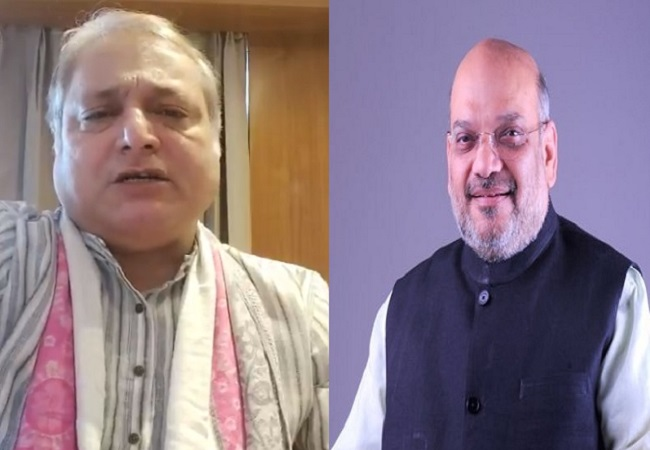 Manoj Joshi and Amit Shah