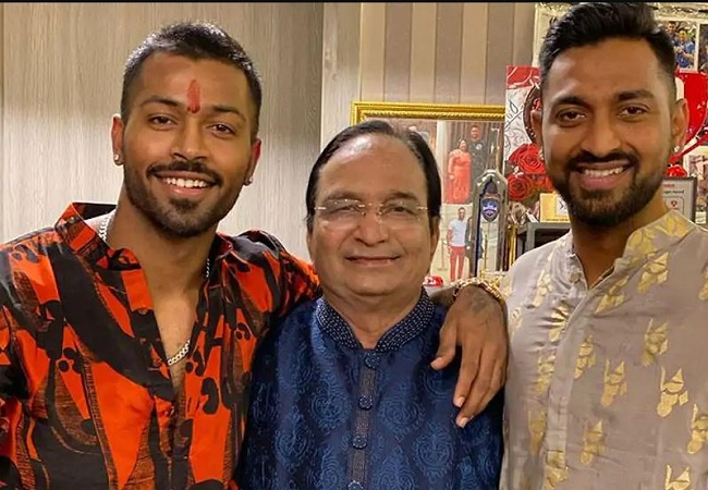 hardik pandya father