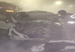 Kannauj: आगरा-लखनऊ एक्सप्रेसवे पर दर्दनाक सड़क हादसा, कार सवार छह लोगों की मौत