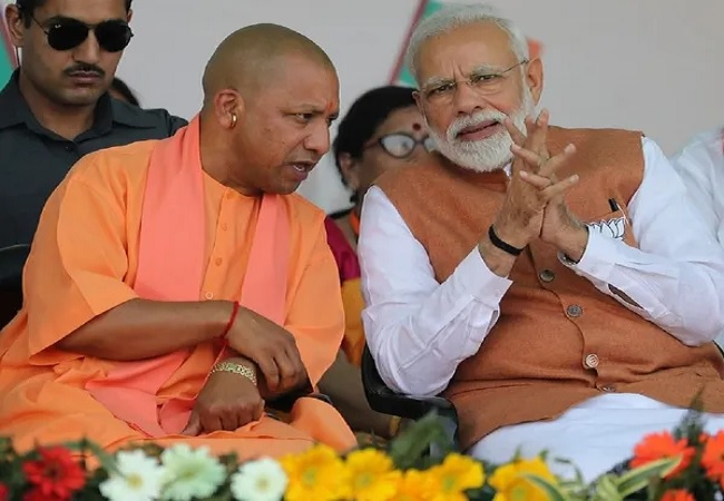 PM Modi And Yogi Adityanath