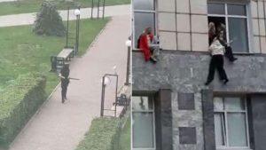 Russia University Attack: रूस की पर्म स्टेट यूनिवर्सिटी पर हमला, जान बचाने के लिए छात्रों ने बिल्डिंग से लगाई छलांग, देखें Video